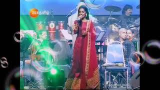 Mannavan perai solli.... Raja sir live performance by super singer priyanka