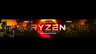 LIVE STREAM: Ryzen 1800x with ASUS X370 Prime Build and Q&A with ASUS