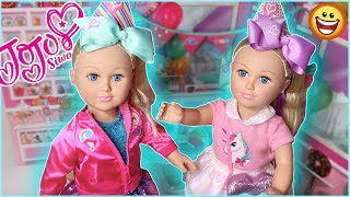 A DAY IN THE LIFE OF A JOJO SIWA DOLL!!!