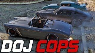 Dept. of Justice Cops #176 - Fun Car Drag Races (Criminal)