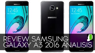 SAMSUNG GALAXY A3  (2016), Review  Total HD