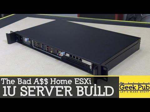 Building a 1U Server (Bad A$$ 1U Server)