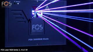 FOS RGB Diode Laser Series | 3000, 4000, 5000 mW