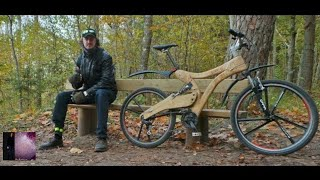 Bulding easy strong wooden MTB bicycle Raits Hots (R)(C)