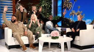 The Superstar Cast of New TV Show 'The Four' Stops By!