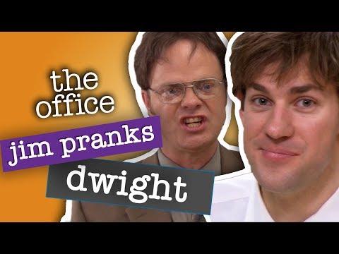 Jim s Best Pranks Against Dwight The Office US