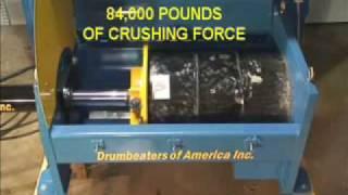 Drum Crusher System Horizontal DC7000 H