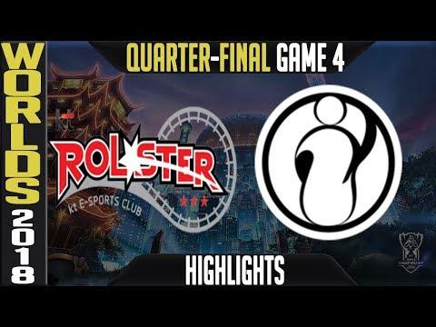 Xxx Mp4 KT Vs IG Quarter Final Highlights Game 4 Worlds 2018 Quarter Final KT Rolster Vs Invictus Gaming 3gp Sex