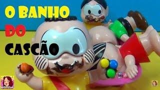 Turma da Mônica O BANHO DO CASCÃO - SUPER DEZ !! kkkkkkk
