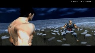 Tekken 5 & DR: Time Attack - All Heihachi & Jinpachi Cutscenes