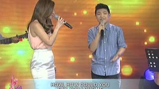 Kyla & Darren sing 'How Could You Say You Love Me'