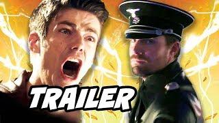 The Flash Season 4 Arrow Crossover Trailer - Evil Green Arrow and The Flash 4x06 Promo