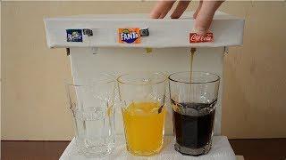 How to Make Coca-Cola, Fanta and Sprite Machine at Home - DIY