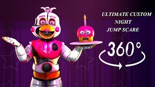 360°|  FUNTIME CHICA 360 JUMPSCARE - FNAF Sister Location [SFM] (VR Compatible)