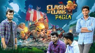 COC PAGLA || Clash Of Clans Funny Video || Bangla new funny Video 2018 || Amra Amrai Tv