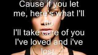 Rihanna Ft Drake- Take Care Lyrics ♥