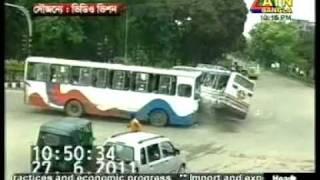 Bangladesh : Khamar Bari Tey Bus Er Bari-ATN Bangla-27-06-2011.mpg