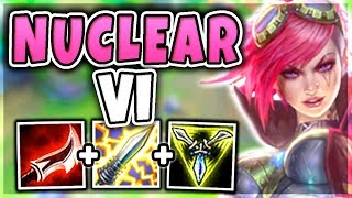 DIVE BOMBER VI MID! 100% INSTANT KILL ENEMIES WITH ONE PUNCH! (OVERPOWERED) - League of Legends