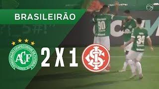 CHAPECOENSE 2 X 1 INTERNACIONAL - GOLS - 17/09 - BRASILEIRÃO 2018
