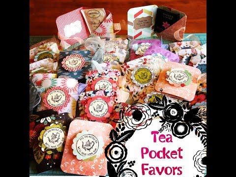 Xxx Mp4 Craft Fair Idea 7 Tea Pocket Favors 2015 3gp Sex