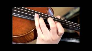Ave Maria, Bach - Gounod on a Tasman acoustic electric violin