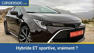 Toyota Corolla Touring Sports 2019: hybride et sportive, vraiment?