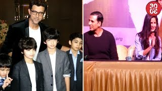 Hrithik & Kids Attend Sussanne's Event | Katrina - Akshay Bond After A Long Time
