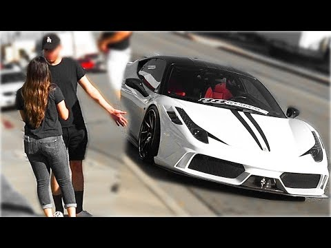 Xxx Mp4 I Give You My Ferrari For Your Girlfriend Social Experiment 2018 3gp Sex
