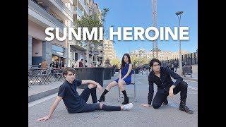 Sunmi (선미) _ Heroine (주인공) DANCE COVER IN PUBLIC By Minni