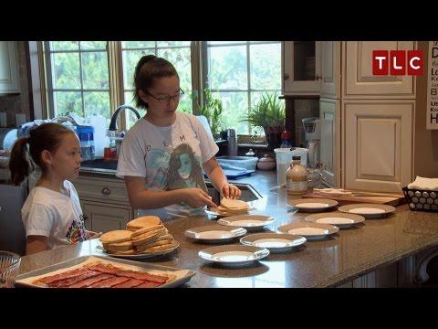 Sibling Rivalry or Love But Always Breakfast Kate Plus 8