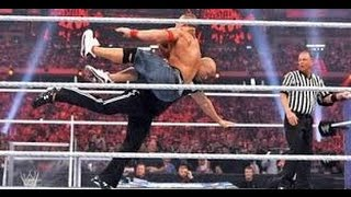 The Miz vs John Cena WrestleMania XXV