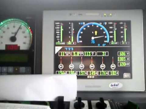 ST45 rozruch do 120 km/h i hamowanie
