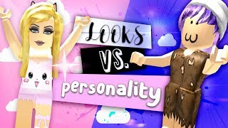 Looks VS. Personality! Roblox Social Experiment w/ LaurenzSide