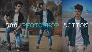 500 photoshop action for free