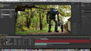 How To: CGI Robot (Blender to After Effects)