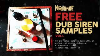 🔊 60 FREE DUB SIREN SAMPLES for Download