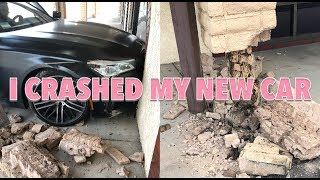I CRASHED MY *NEW* BMW 750i *not click bait*   Jordyn Jones