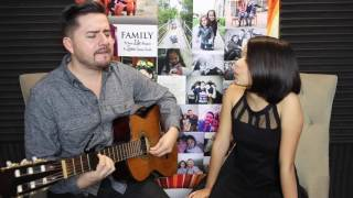 Home - Edward Sharpe and The Magnetic Zeros Acoustic Cover by Jorge and Alexa Narvaez