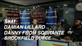 Damian Lillard Reveals New Record Label on Sway in the Morning