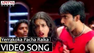 Yerrakoka Pacha Raika Video Song - Bhadra Video Songs - Ravi Teja, Meera Jasmine