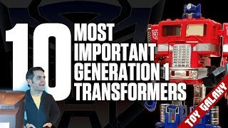 Top 10 Most Important Generation 1 Transformers | List Show #22
