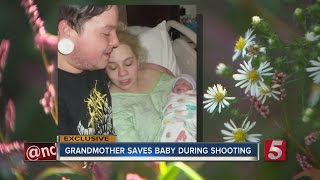 Young Mother Shot In Front Of Child