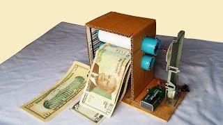 How to make Money Printer Machine Magic Trick simple - so fun machine