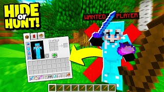 HUNTING the MOST WANTED Minecraft Player! - Hide Or Hunt #6