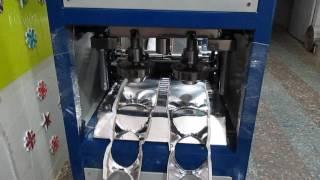 डबल डाई दोना+Pleat +थाली रोल मशीन ...(Balaji+)