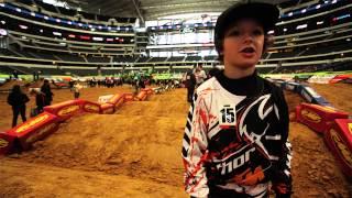 KTM Junior Supercross Challenge - Behind-the-Scenes Look