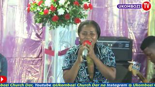 UKOMBOZI PRAISE TEAM DAR, WORSHIPING LIVE - EXCESS LOVE SONG by Mercy Chinwo