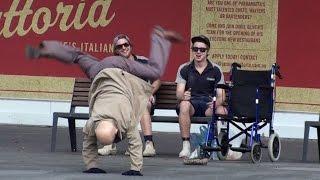 DANCING GRANDPA Prank!