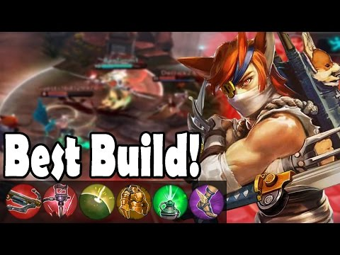 Best/Most Annoying Taka Build! | Vainglory