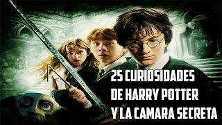 25 Curiosidades de Harry Potter y la Cámara Secreta.